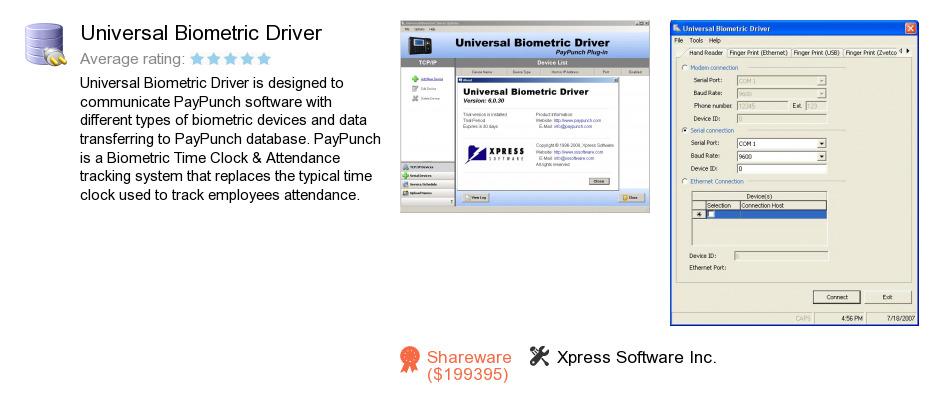 Universal Biometric Driver