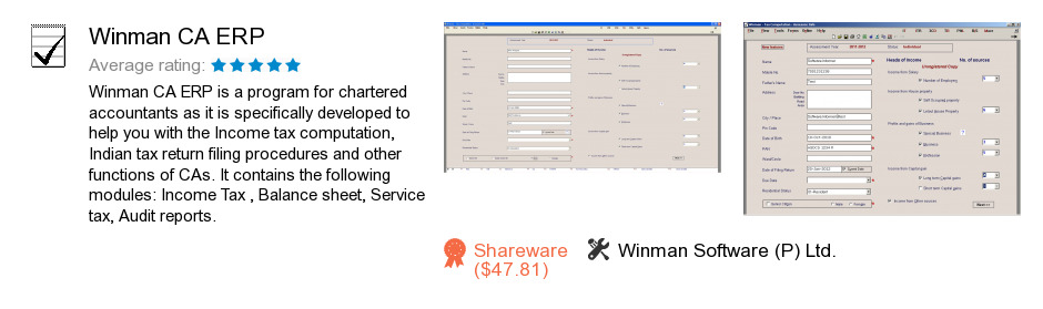 winman software download