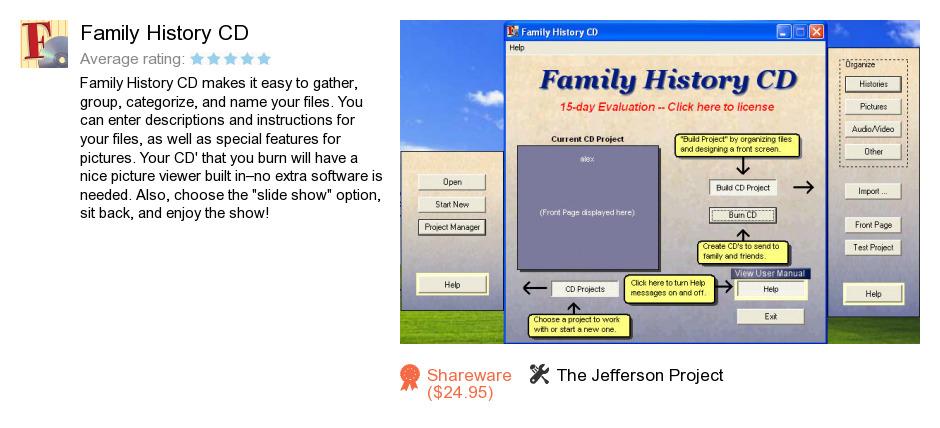 Family History CD