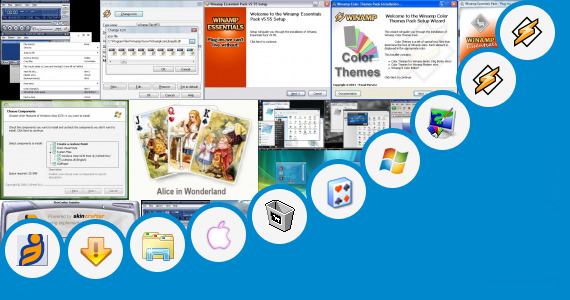 Software collection for Windows 7 Anonymous Skin Pack