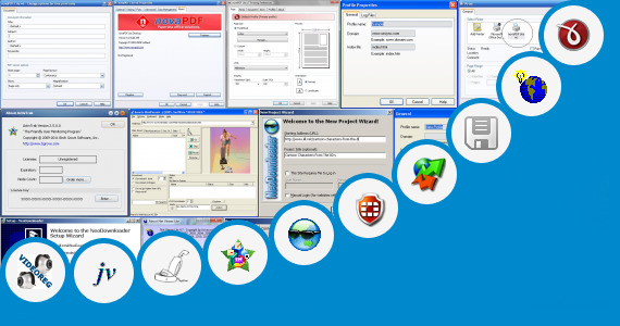 Software collection for Web Lab Viewer Lite