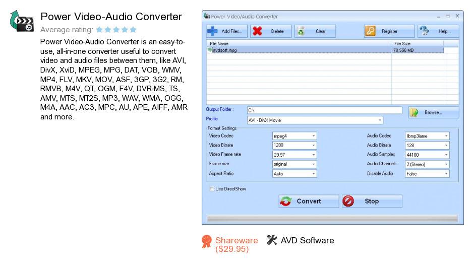 Power Video-Audio Converter