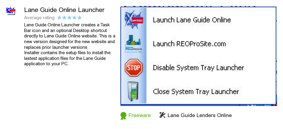 Lane Guide Online Launcher