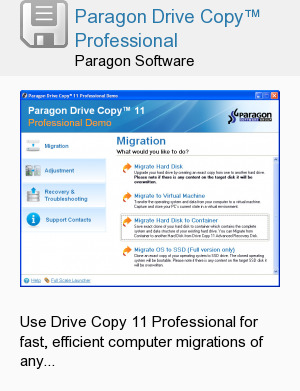 Paragon Drive Copy™ Professional