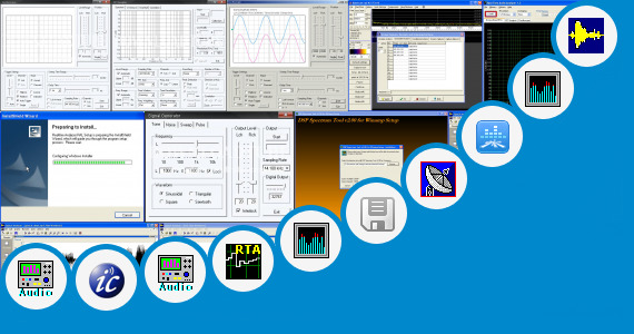 Software collection for Windows 7 Background Spectrum Analyzer