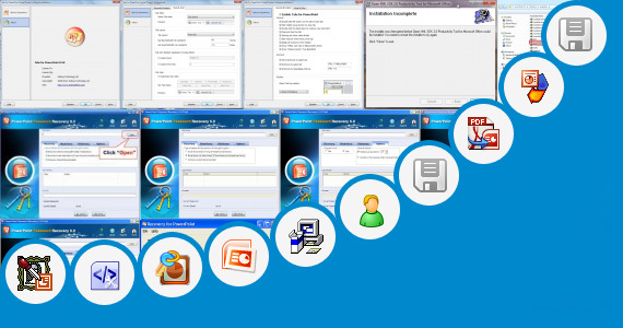 Software collection for Materi Microsoft Access Powerpoint