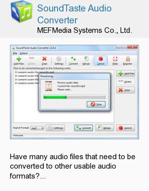 SoundTaste Audio Converter