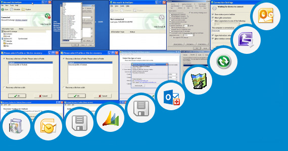 Software collection for Microsoft Outlook Military