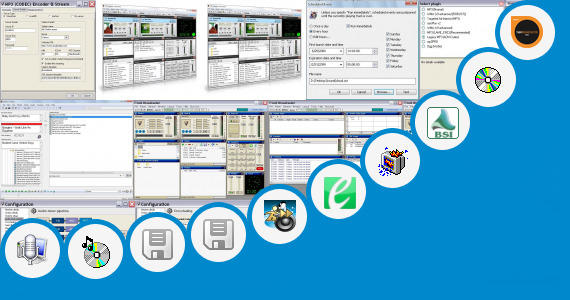 Software collection for Broadcast Automation Software