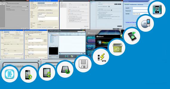 Software collection for Ringtone Sending