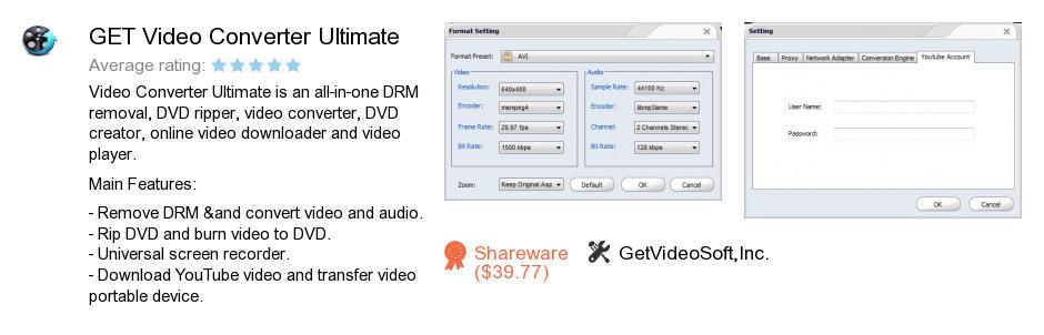 GET Video Converter Ultimate