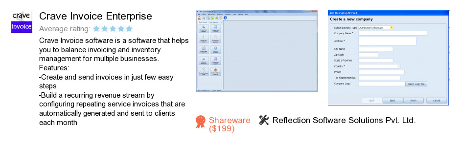 Crave Invoice Enterprise
