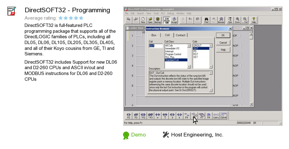 DirectSOFT32 - Programming