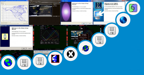 Software collection for Gadget Windows 7 Satellite Tracking