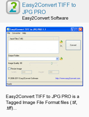 Easy2Convert TIFF to JPG PRO