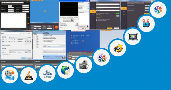 Software collection for Movavi Video Editor Freeware