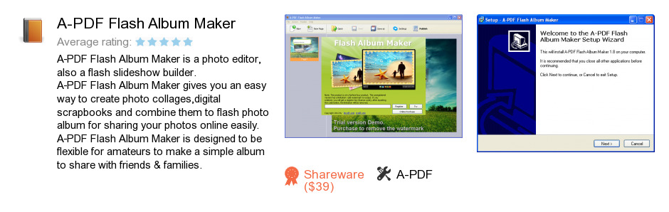 A-PDF Flash Album Maker