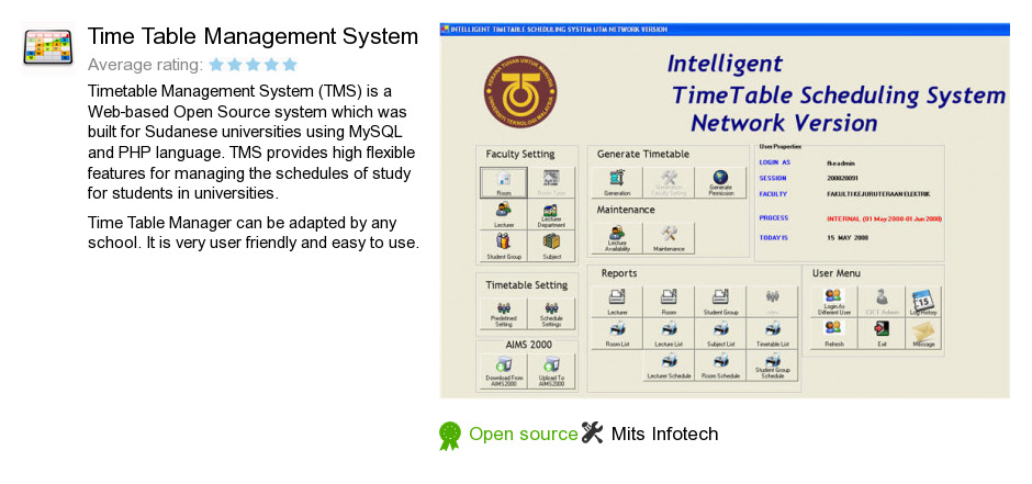 srs timetable management system essays Srs routine management system (college rms) a mini  when new  student will take admission in btech then its time table records will be  create  a system definition that forms the foundation for subsequent work.