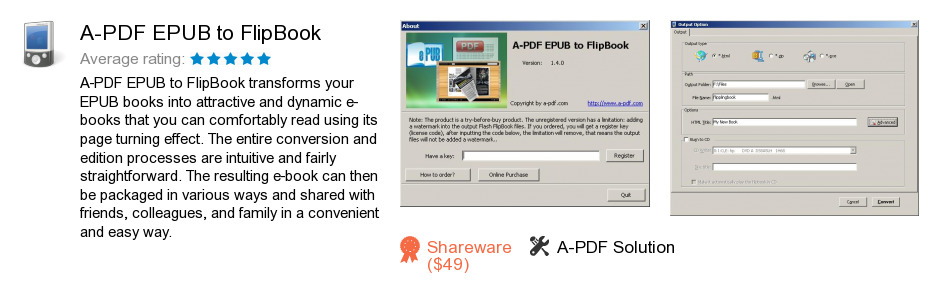 A-PDF EPUB to FlipBook
