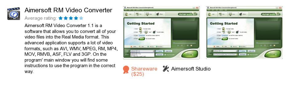 Aimersoft RM Video Converter