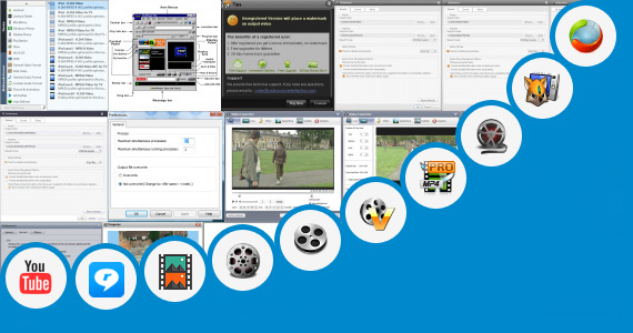 Software collection for Rare Video Freecom