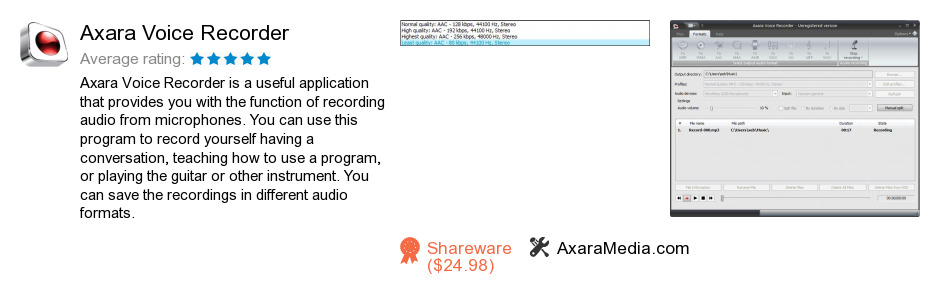 Axara Voice Recorder