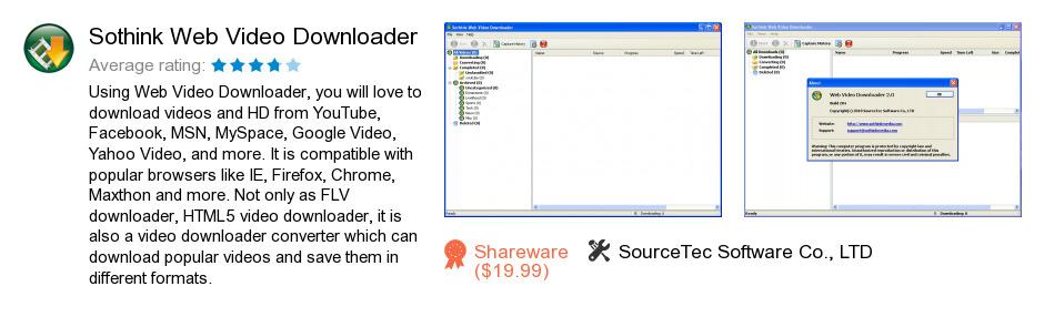 Sothink Web Video Downloader