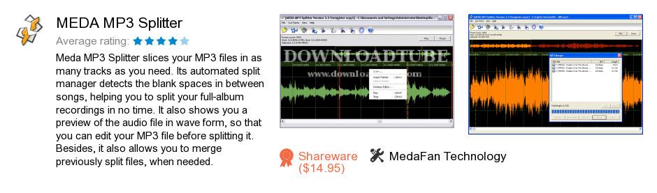 MEDA MP3 Splitter