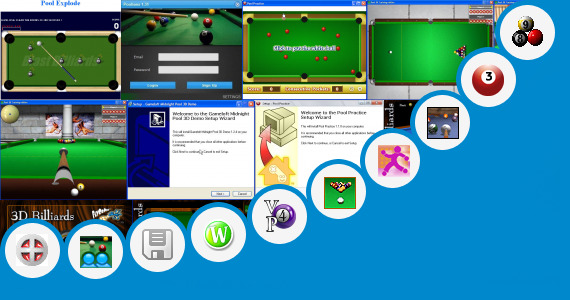 Software collection for Games 8 Ball Pool Offline