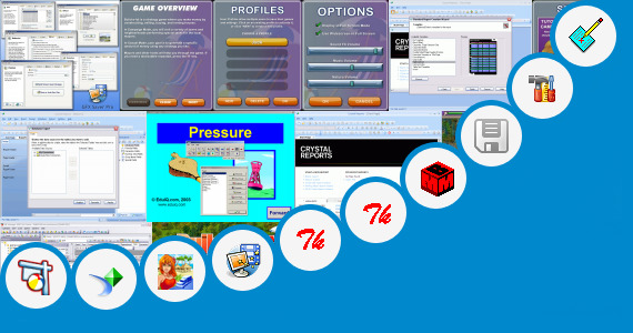 Software collection for Oracle Graphics Builder Tutorial