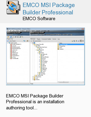 EMCO MSI Package Builder Professional