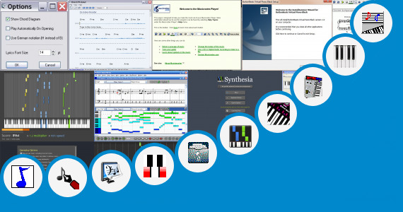 Software collection for Tamil Movie Songs Piano Sheets