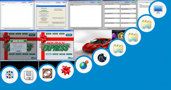 Software collection for Volkswagen Car Windows 7 Theme