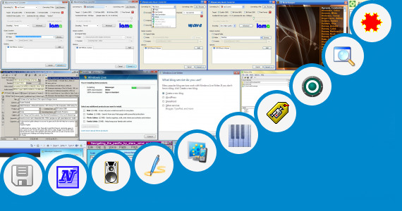 Software collection for Short Note On Windows Explorer