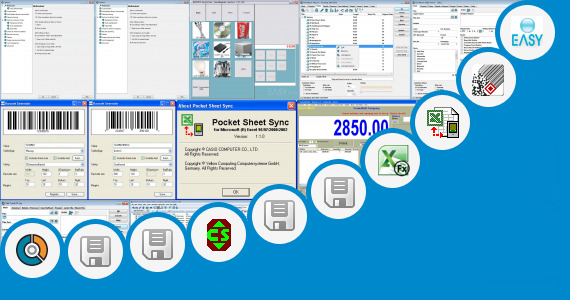 Software collection for Snack Bar Inventory Sheet Excel
