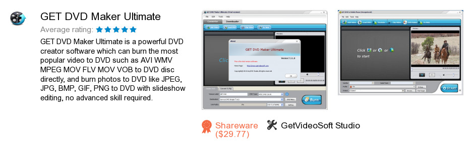 GET DVD Maker Ultimate