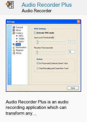 Audio Recorder Plus