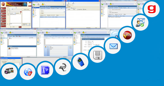 Software collection for Sms Sender Java Application By Krg