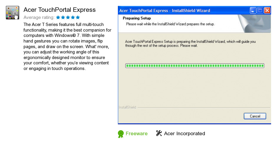Acer TouchPortal Express