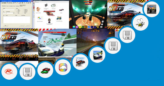 Software collection for Race Car Livery Design Software