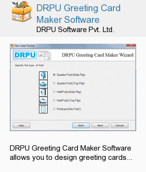DRPU Greeting Card Maker Software
