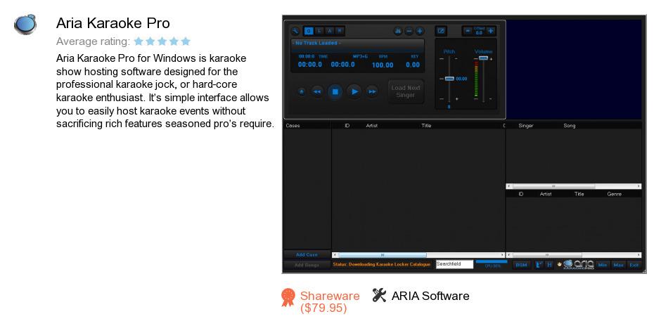 Aria Karaoke Pro