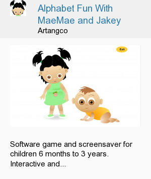 Alphabet Fun With MaeMae and Jakey