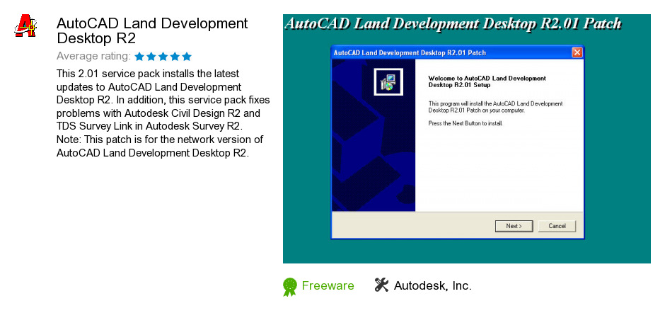 AutoCAD Land Development Desktop R2