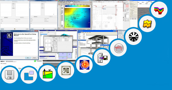 Software collection for 3d Seismic Data Segy