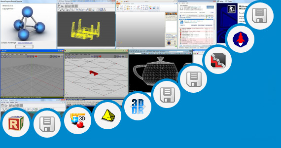Software collection for 3d Model Stl Rlf