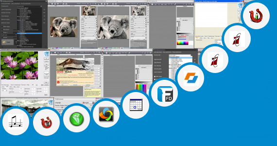 Software collection for Basketball Pencil Sketch