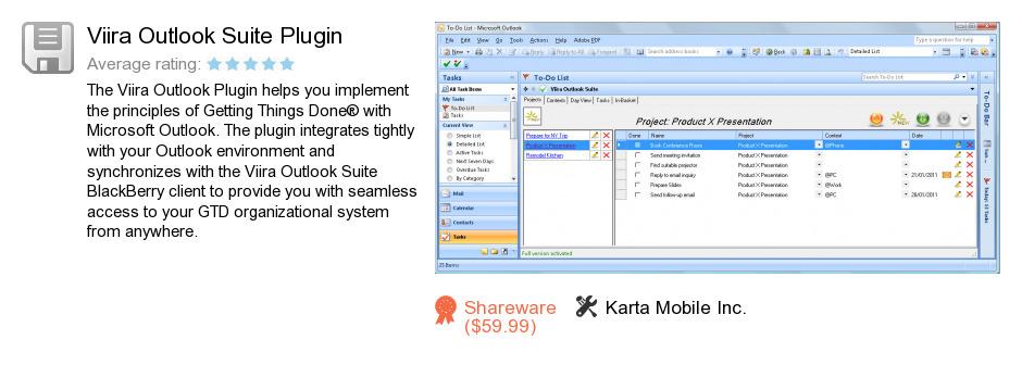 Viira Outlook Suite Plugin