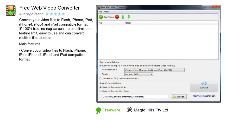 Free Web Video Converter