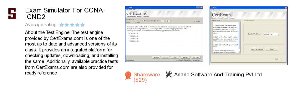 Exam Simulator For CCNA-ICND2
